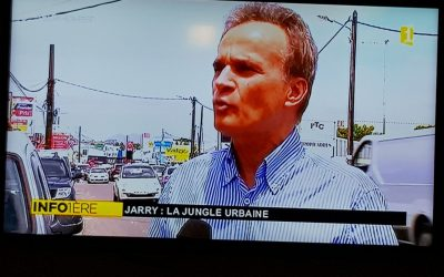 Intervention télévisé lors d'un reportage sur les difficultés à Jarry